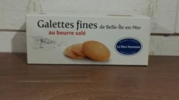 Galettes fines au beurre salé