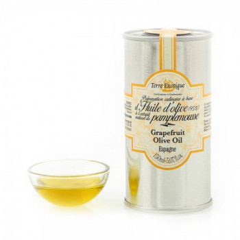 Huile d'olive à l'extrait naturel de pamplemousse