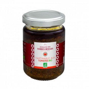 Tartinables aux tomates bio